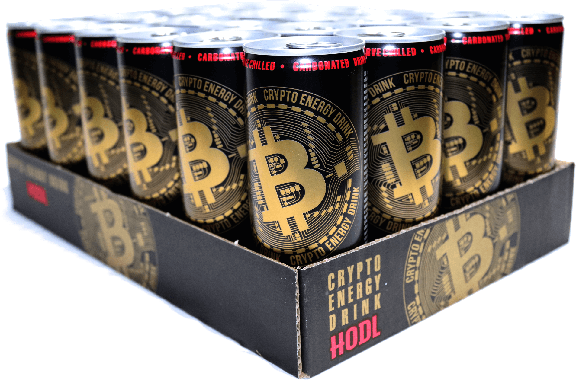24 pcs. Crypto Energy Drink